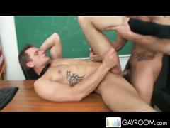 Stud trent diesel gets fucked by the teacher