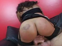 Hot brunette milf get hardcore sex