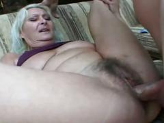 hardcore, big cock, cowgirl, doggy style, hairy ass, hairy pussy, missionary, old woman young man, platinum blonde, rough fuck, unshaved pussy