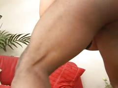 Sweet brunette babe get fucked by an anal lover