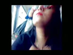 Dicking in crowded bus + showing nice cleavage video=20