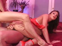 Awesome double penetration fuck action