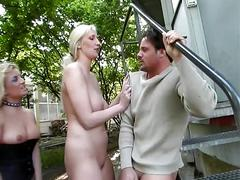 babe, bdsm, big dick, blonde, threesome, 10 inch, 3some, beauty, big cock, bondage, chick, cutie, femdom, ffm, mistress, platinum blonde, slave