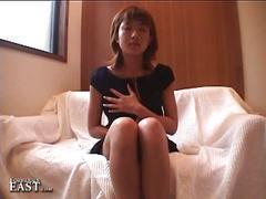 amateur, asian, brunette, masturbation, solo, black hair, homemade, japanese, masturbating, teasing
