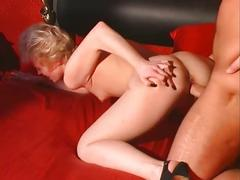 Older guy fucking blonde bitch