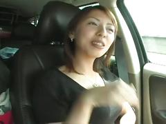 asian, babe, masturbation, outdoor, toys, car, chick, cutie, dildo, glamour, huge dildo, japanese, masturbating