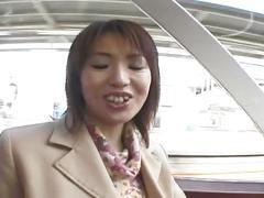 Sexy japanese slut get pussy fucked hard
