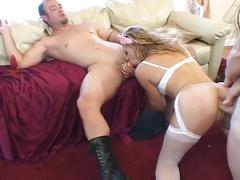 Audrey hollander double penetrated by two hard cocks