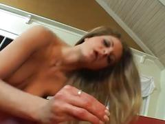 Amateur sex movie with a horny slut
