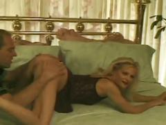Amateur sex movie with hot blonde milf and she fucked into her anal