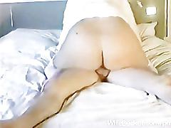 Milf amateur fucked at home