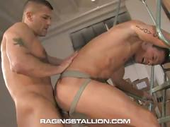 Big dick hunks in jocks cavin knight and tony buff hard whacking