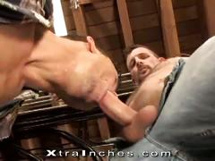 Perverted muscled hunks morgan black and roman heart anal attack