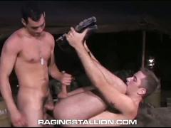 Luscious military hunks justin christopher and rj danvers ramming