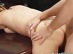 Hot school girl fucking in the office