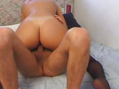 Blonde in sexy stockings gets fucked