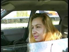 Amateur girl with hair pussy masturbates