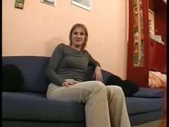 Blonde milf in hot video