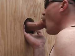 Two dudes loves oral sex & glory hole