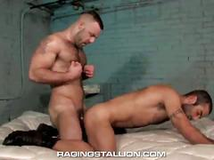 Bruno knight and jason michaels get to it