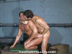 Yummy muscled hunks alexander garrett and angelo marconi hot anal