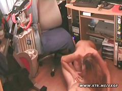 Hot young amateur couple fucking