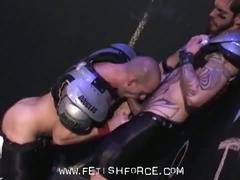 Kinky muscled jocks logan mccree and scott tanner hard anal fuck