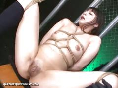 Extreme japanese bdsm torture