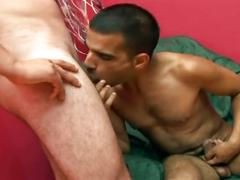 Yummy young hairy fuckers pounding tight anal holes on the couch