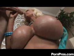 Lewd massive boobies blonde momma bibi noel down for hot fun