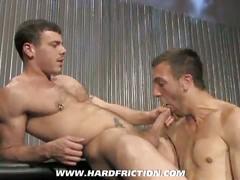 Hot anal gay bareback ass fucking