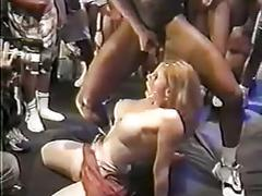 2 hot blondes cum covered