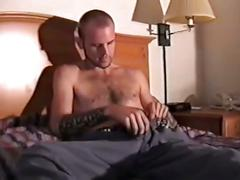 Solo israeli dude takes his clothing and jerks his big cock