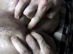 Fuck hungry horny amateur gay lovers ass pumping session