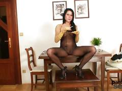 Hot pantyhose pleasures for margaret