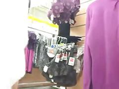 Supermarket shopping no panties