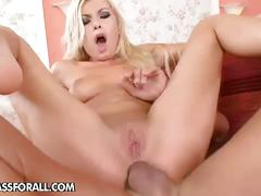 Blonde babe donna bell fucked hard