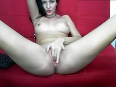 Webcam girl masturbate
