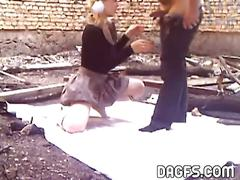 Polish babe rammed hard by horny dude