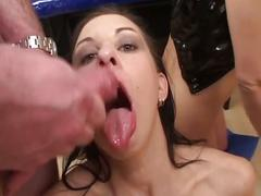 European chicks in a hot group fuck
