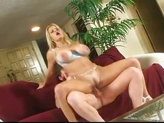 Extreme hardcore sex with a blonde and big boobs babe !!