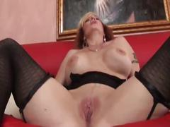 Mature fucked by a ebony young cock
