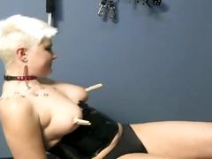 babe, bdsm, brunette, lesbian, toys, alva beta, nymphetamean, beauty, black hair, bondage, butt plug, chick, cutie, fingering pussy, glamour, huge toy, wrapped bondage