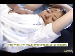 Yua aida hot asian nurse enjoys lots of sex