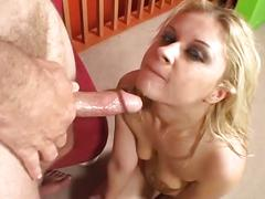 Amateur sex movie with a nice blonde anal fuck lover