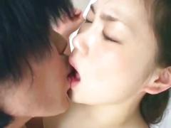 Cute young asian babe drilled hard by horny dude