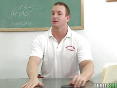 Skanky student fucked in the classroom