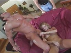 Blonde milf fucked raw