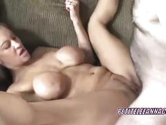 Petite leeanna gets her pussy busted hard