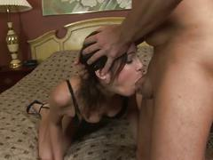 Amber rayne face fucked to the balls